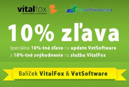 špeciálna 10%-tná zľava na update VetSoftware