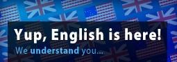 Anglická verzia spustená!