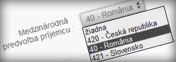 Medzinárodná predvoľba +40 pre Rumunsko pridaná